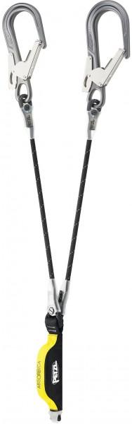 Petzl Absorbica Y MGO Fall Arrest Lanyard. Length 105 cm (with connectors) – EN 354/EN 355/EN 362