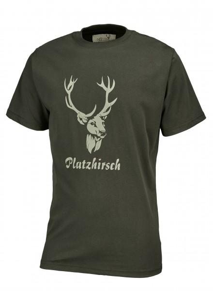 Hubertus Herren-T-Shirt Platzhirsch