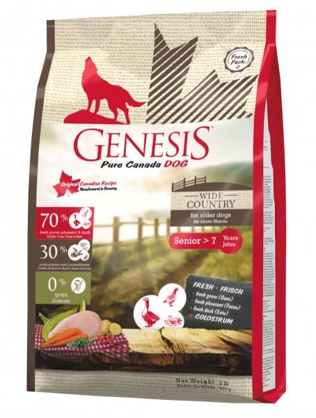 Genesis Hundefutter Wide Country Senior