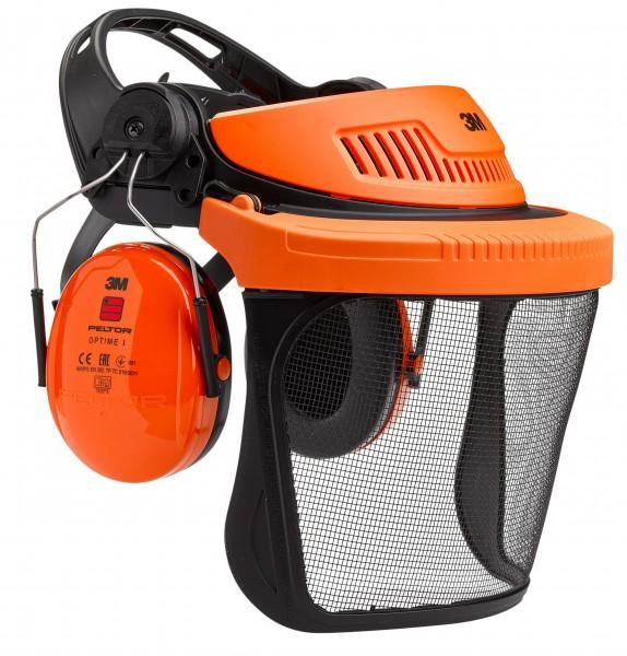 Peltor Gehör- und Gesichtsschutz Kombination G500