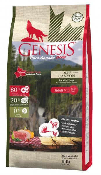 Genesis Hundefutter Deep Canyon