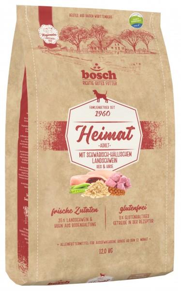 Bosch Heimat Adult mit Schwäbisch-Hällischem Landschwein