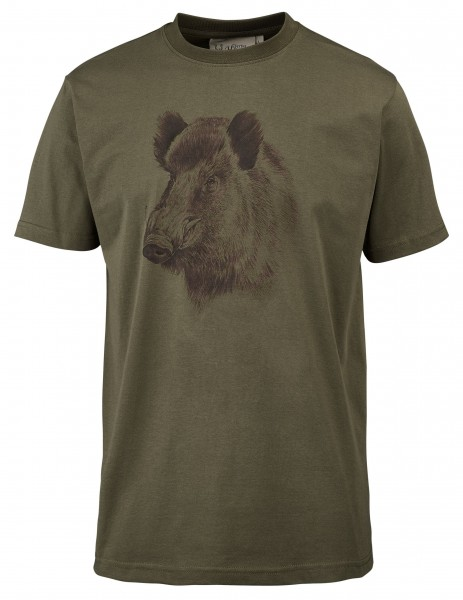 Hubertus Herren-T-Shirt Keiler