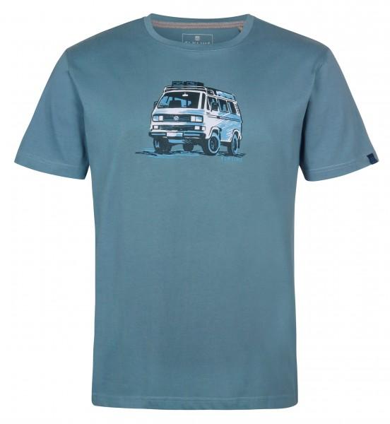 Elkline Herren-T-Shirt Gassenhauer VW-Bulli T3