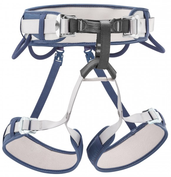 Petzl Corax Sports Climbing Harness. Methyl blue.