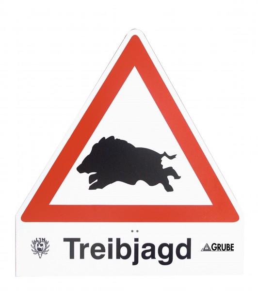 Treibjagdschild Light Wildschwein