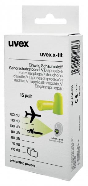 Uvex Gehörschutzstöpsel X-fit