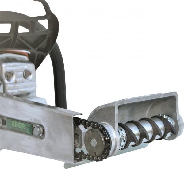 Eder Borkenkäferfräse-Anbaugerätekopf für Kettenantrieb