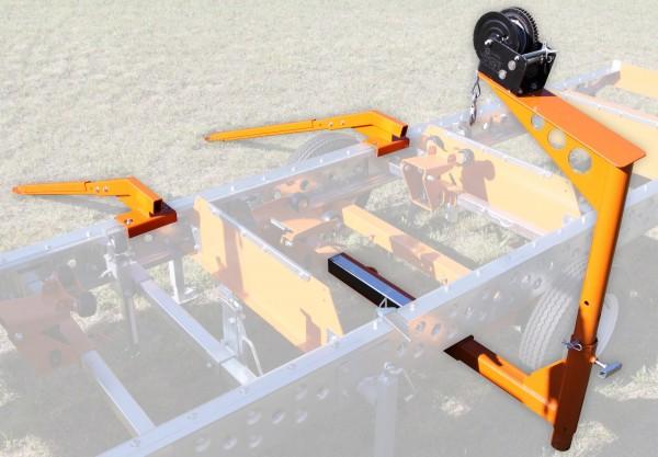 Norwood Laderampe und Windensystem für Sägewerk HD 36