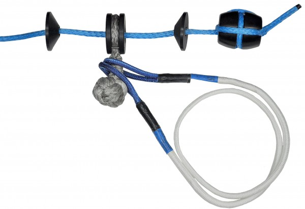 Dynaforce® Plastic Slider with Dyneema Knot