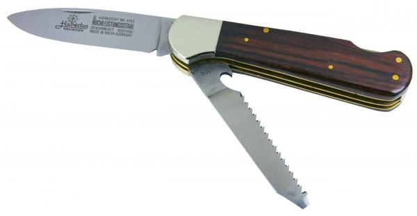 Hubertus Jagd- und Outdoormesser mit Säge