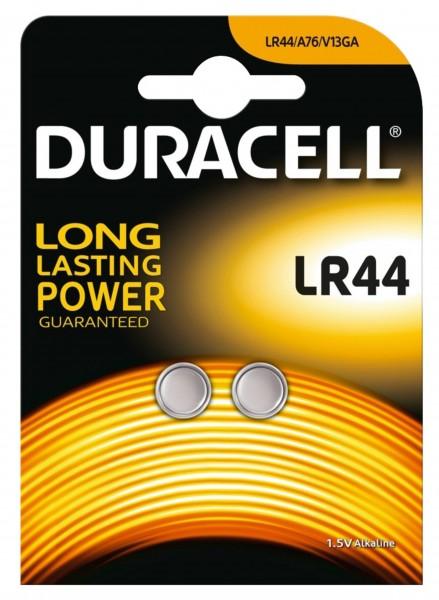 Duracell Batterien LR44 IEC 1,5 V