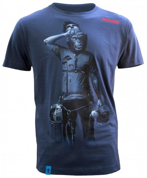 Dendroid Herren-T-Shirt Face Off