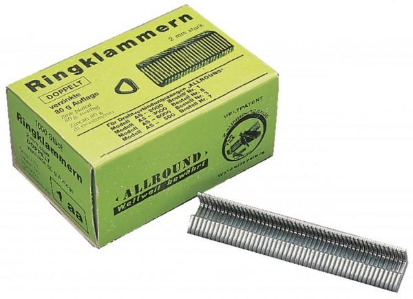 Loop Staples for Fencing Pliers - 2 mm Ø