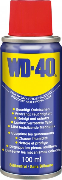 Aérosol multifonction WD-40 Classic 100ml