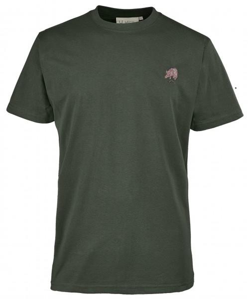 Hubertus Herren-T-Shirt Wildschwein