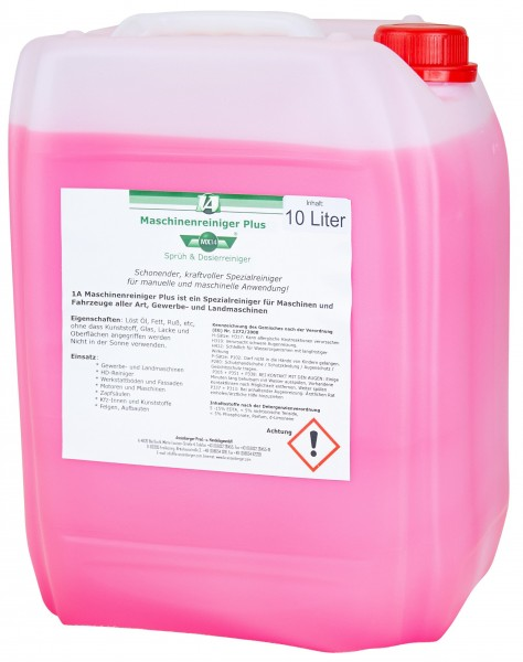 Max Machine Cleaning Solution