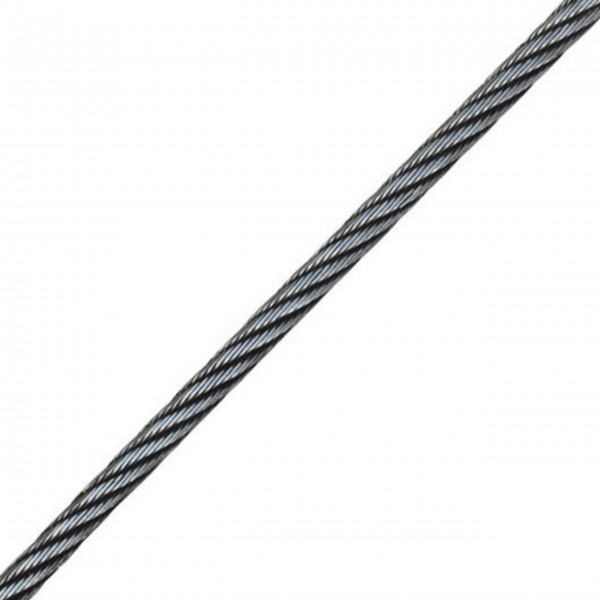 High Density Steel Winch Cable 6 x 26 WS
