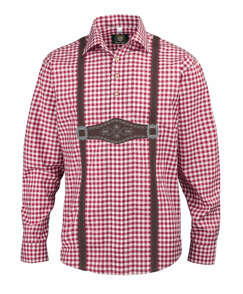 OS-Trachten Herren-Langarmhemd