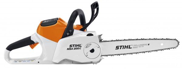 Stihl MSA 200 C-B Cordless Chainsaw without Rechargeable Battery or Charger.
