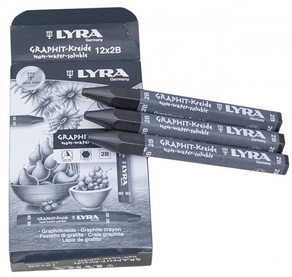 Vollgraphitkreide Lyra 1772